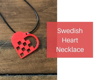 Swedish Heart Necklace
