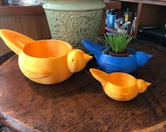 Bird Bowl Planter