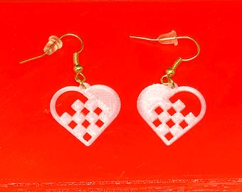 Swedish Heart Earrings