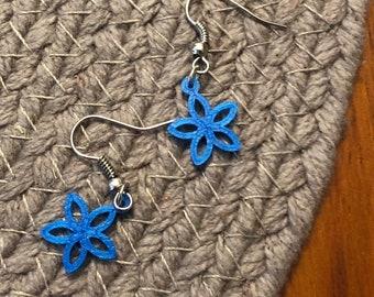 5 petal earrings