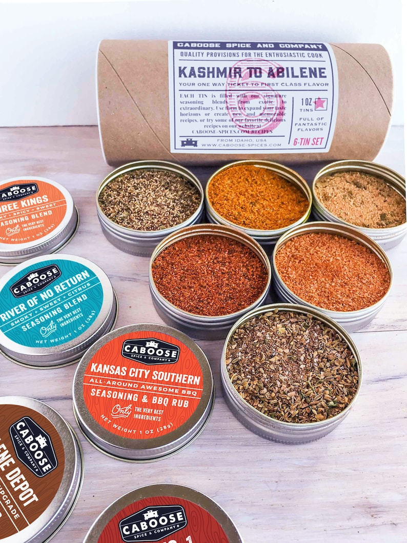 Grill Set Boyfriend Gift Box BBQ Spices Kit Birthday