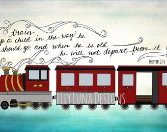 Train up a Child Verse, Proverbs 22:6, Inspirational Growth
