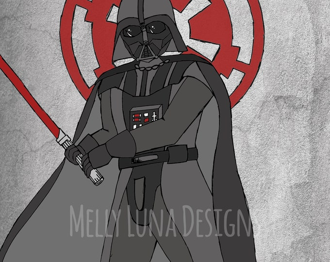 Inspired by Darth Vader, Sith, Empire
