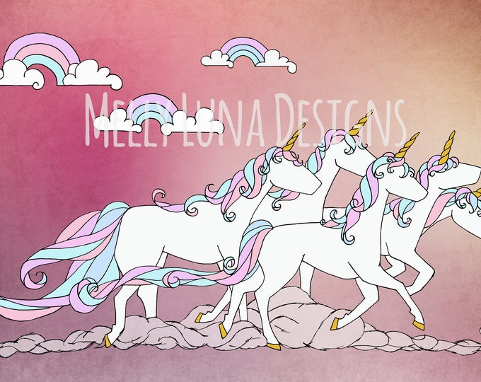 Unicorn Stampede, Last Unicorn, Rainbows