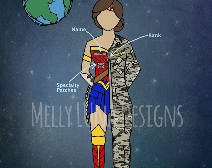 Custom Wonder Soldier