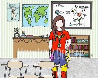 Wonder Teacher // Classroom Heroes
