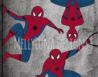 Spider Man Inspired Print