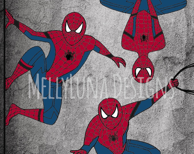 Spider Man Inspired Print
