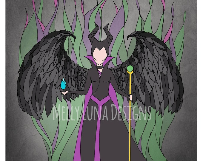 Inspired by Maleficent, Sleeping Beauty