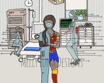 Wonder Medical Professional // Nurse // Doctor // Heroes