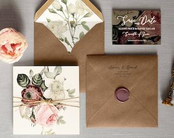 Wedding invitations etsy uk stopboris Gallery