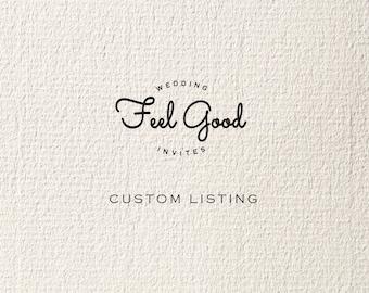 Custom Listing for Sophia