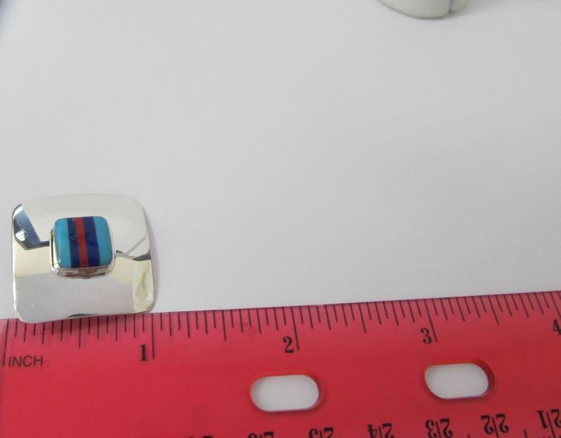 925 Silver Retro Clip on Earrings W #562