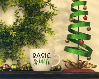 Basic Grinch Wine Glass/Coffee Mug