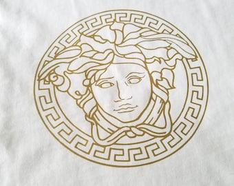 Medusa Logo Unisex T-shirt, Boys Shirt, Girls Shirt, V- Neck Top, Versace Inspired Design
