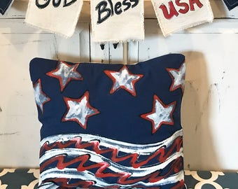 4th Of July Decorations Outdoor Cushion Home Decor 4th Of Etsy