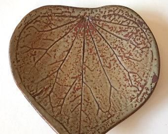 Decorative Ceramic Leaf Tray
