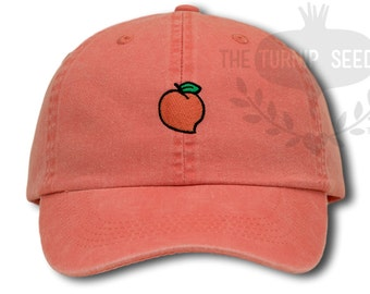 Georgia Peach Baseball Cap - Custom Color Hat fcb07a1410e
