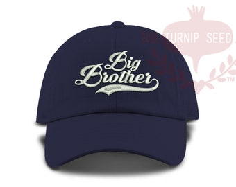 60cf45287974f TODDLER Big Brother Baseball Cap - Custom Color Hat and Embroidery.