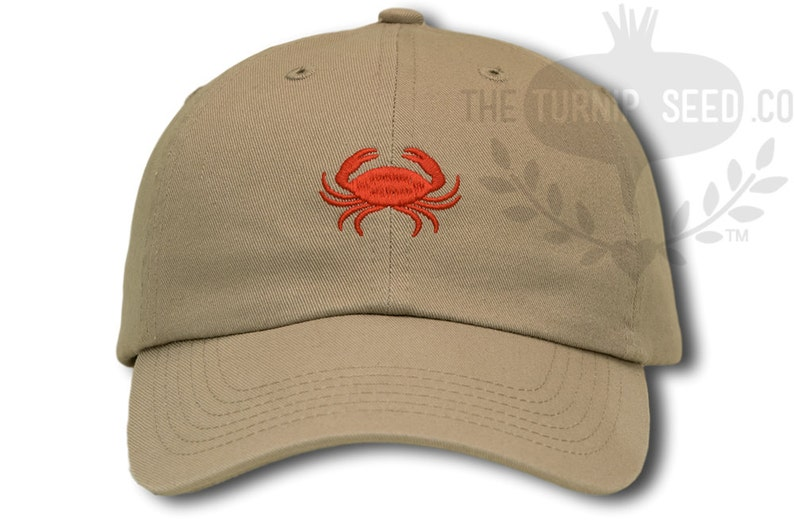 Crab Baseball Cap Custom Color Hat