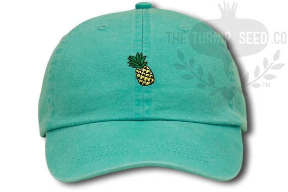 Pineapple Baseball Cap - Custom Color Hat ccce47f01a84