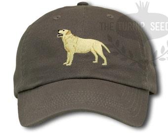 Labrador Retriever Dog Baseball Cap - Custom Color Hat