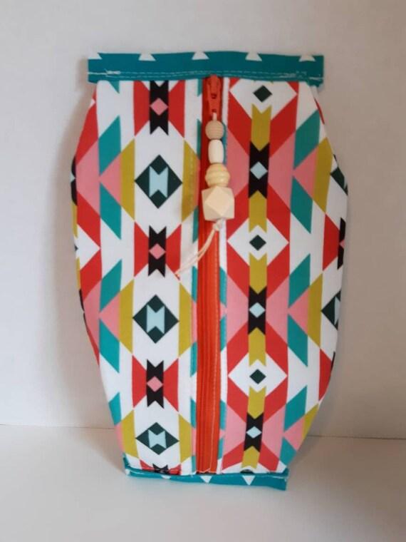 Medium popcorn pouch zip pouch