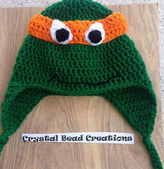 Teenage Mutant Ninja Turtle Hat Pattern Etsy