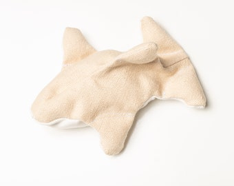 Orca Catnip Toy- Sturdy Natural Cat Toy-Synthetic free and Organic. Great for grabbing and kicking.