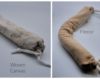 Replacement Sleeve ONLY for our Long Catnip Snake.  Refresh your cat's favorite catnip  toy.  Washable OUTER sleeve.