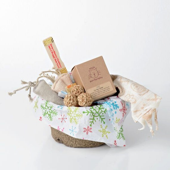Gift Basket for Cats - Santa Sized