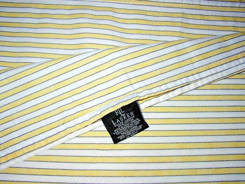 Details about Ralph Lauren Sheet Polo Bear Ticking Stripe