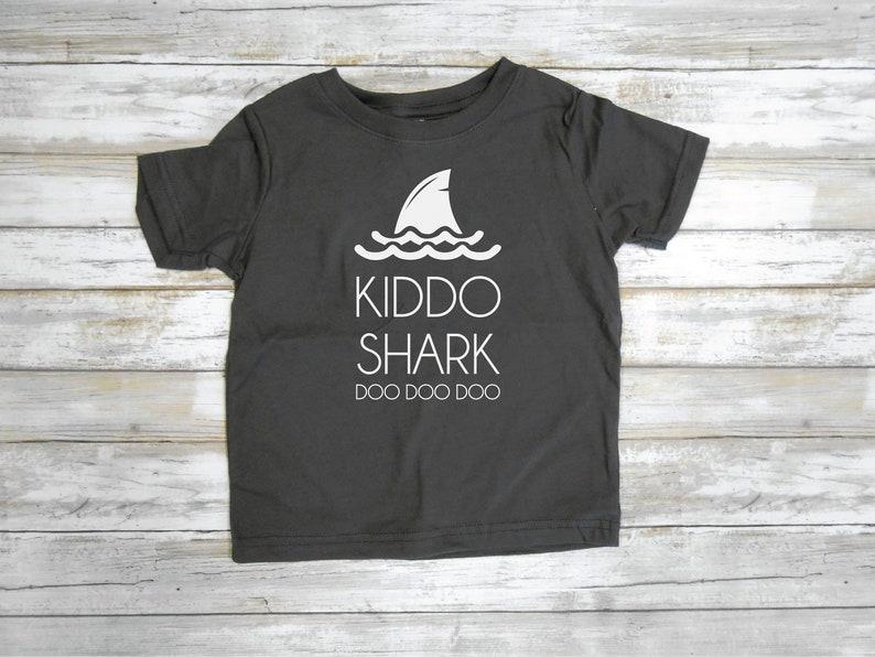 Tee Shirt Enfant Liste B/éb/é Famille Requin T-Shirt