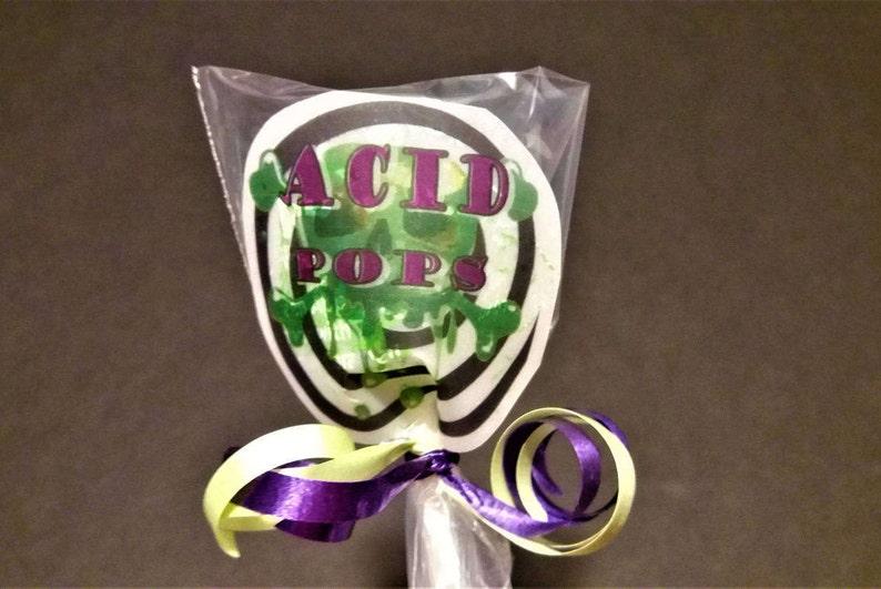 Printable Acid Pop Candy Label