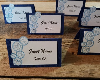 Printable Whovian Placecards (Editable)
