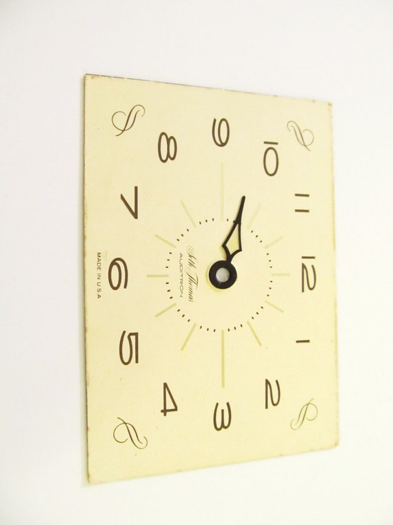 New Old Stock 5 Inch Seth Thomas Paper Clock Dials parts repair R