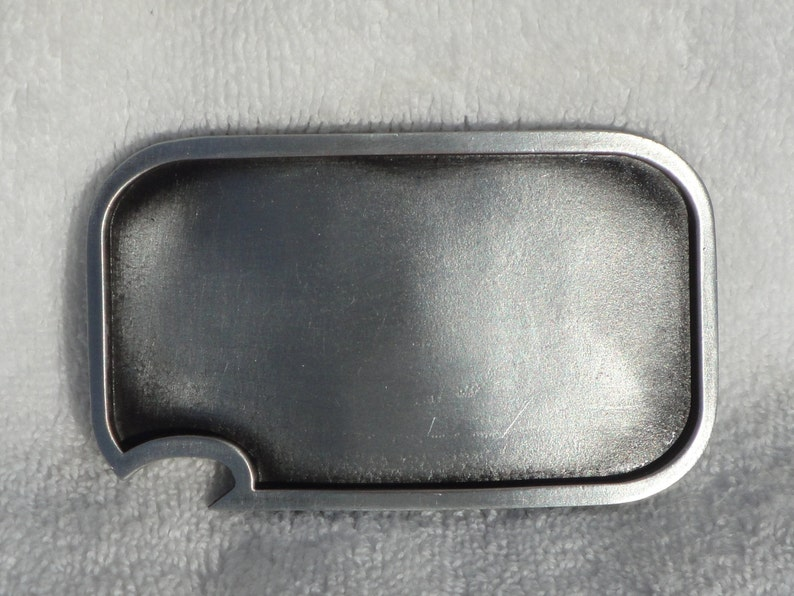 Blank belt buckle  with built-in bottle opener image 0