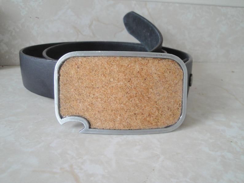 Cork buckle  with built-in bottle opener image 0