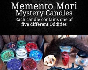 Memento Mori Mystery Odditiy Candles