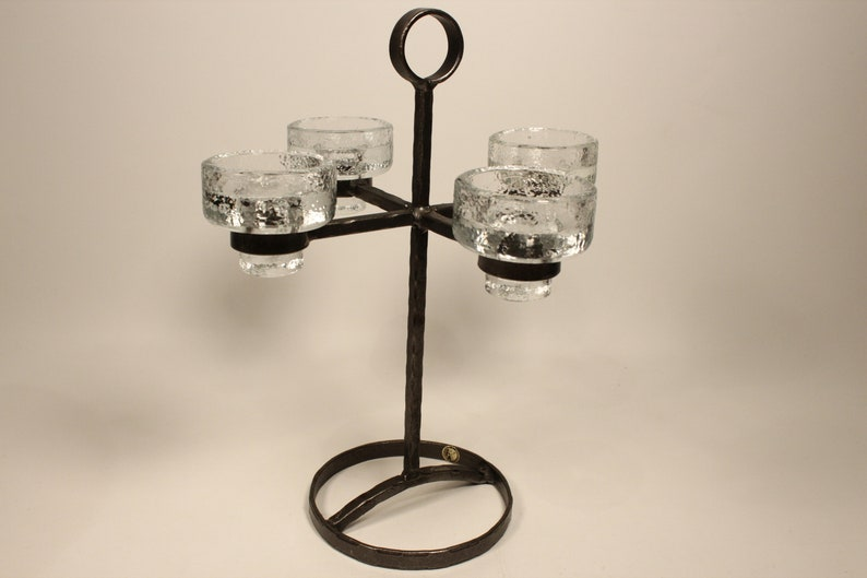 Kerzenhalter aus robustem glas ideal zum dekorieren id