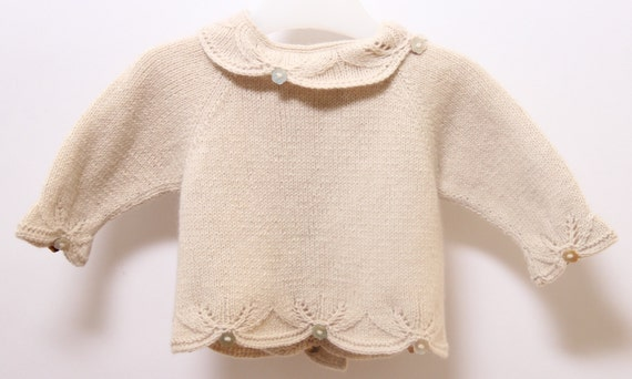 Baby Vest Knitting Instructions in English PDF Instant download Size Newborn - 3 months