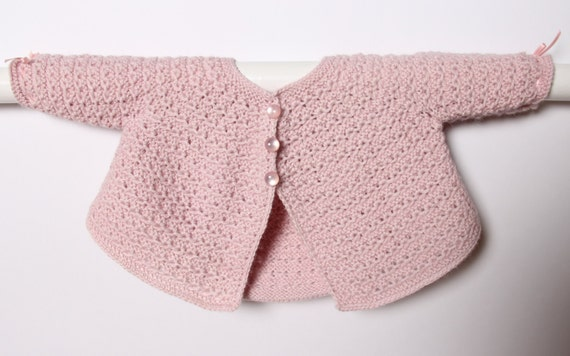 Baby Jacket / Knitting Instructions in French / PDF Instant Download  / 3 Sizes : Newborn, 3 and 6 months