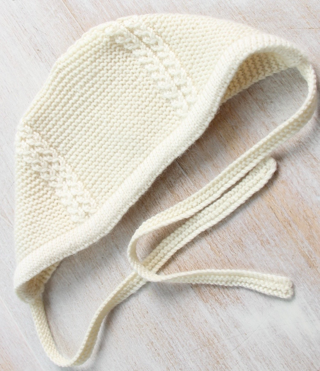 Baby Knitting Pattern Princess Charlotte Royal Baby Bonnet