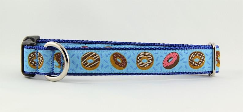 The Sweet Treats on Blue Dog Collar