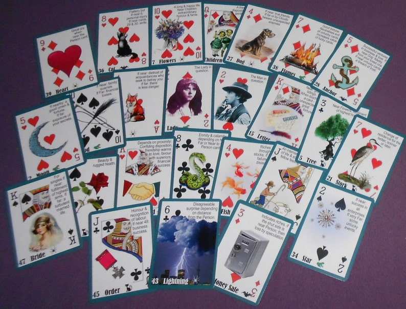 Next Generation Gypsy Witch Fortune Telling Oracle 52 Cards by Lynn Boyle   Brand New  Self Published