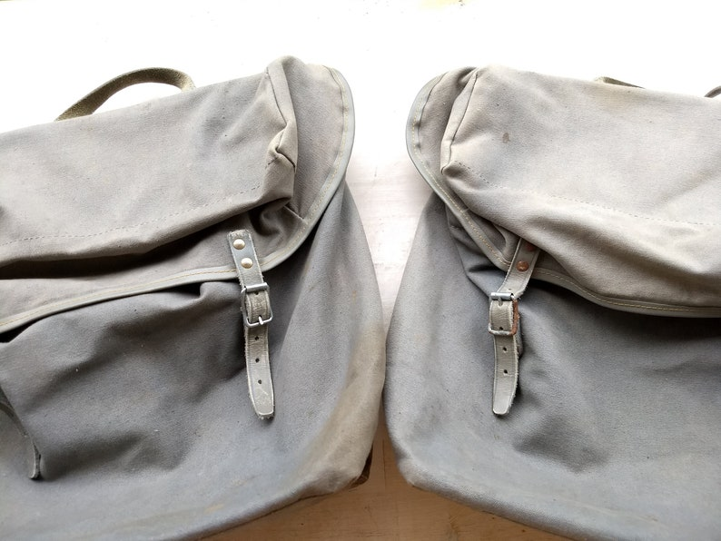 Scandinavian Vintage Norr\u00f8na Pannier Bags