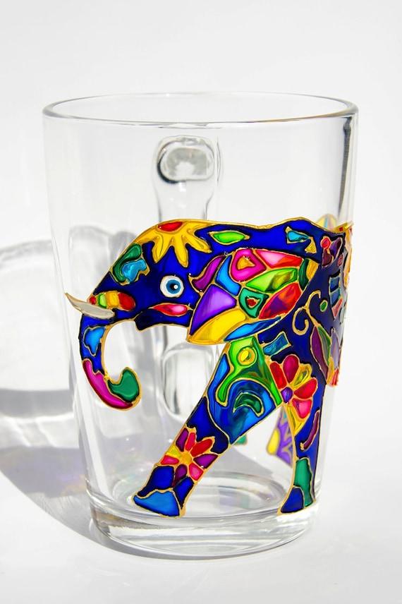 Elefant Kaffeebecher Geschenk für Elefanten Liebhaber Freund | Etsy