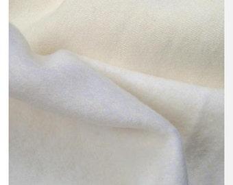 FLEECY Hemp/Organic Cotton Natural - Knit fabric (0.25m)