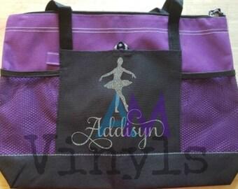 1d3ac78d197 Personalized dance bag. Custom dance tote