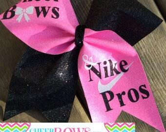 7e73c430dfcdf Nike cheer bows | Etsy